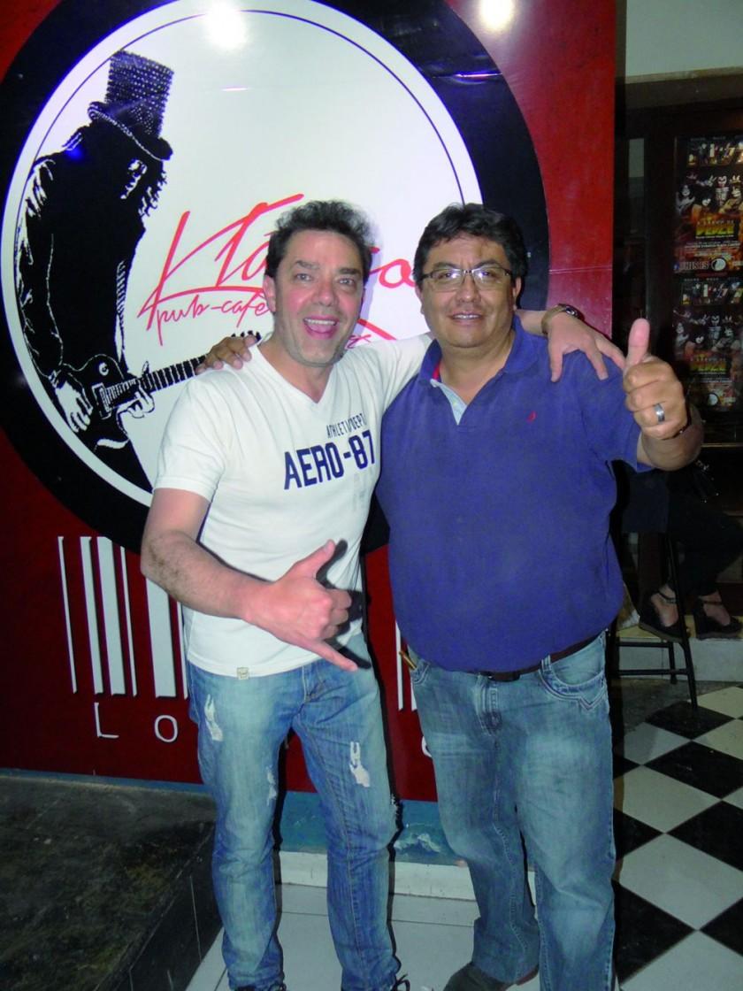 Martín Joffre y Renny Zárate.