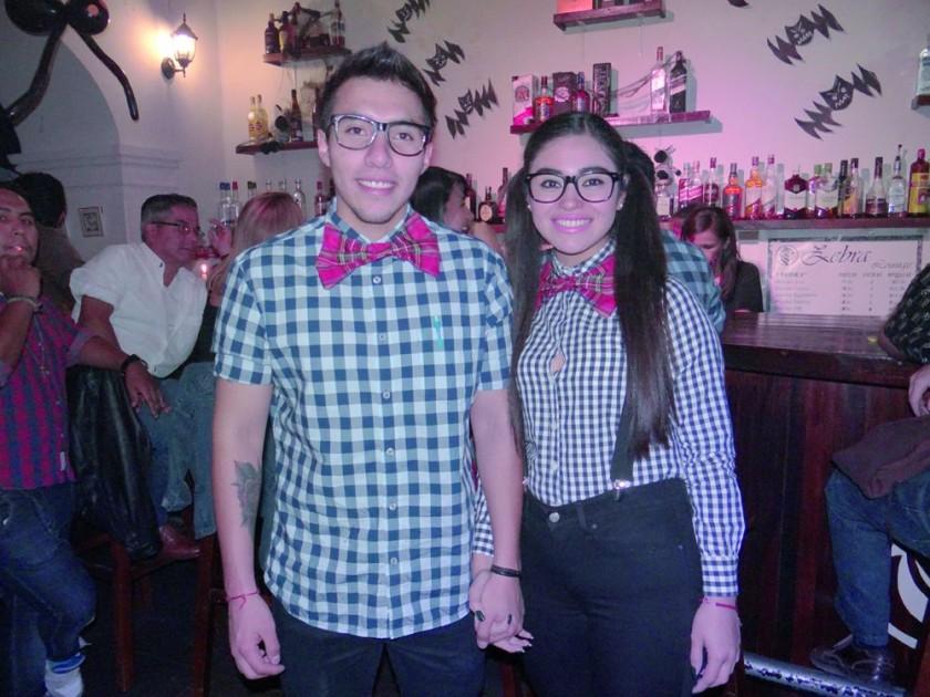 Diego Guzmán y Carolina Taboada.