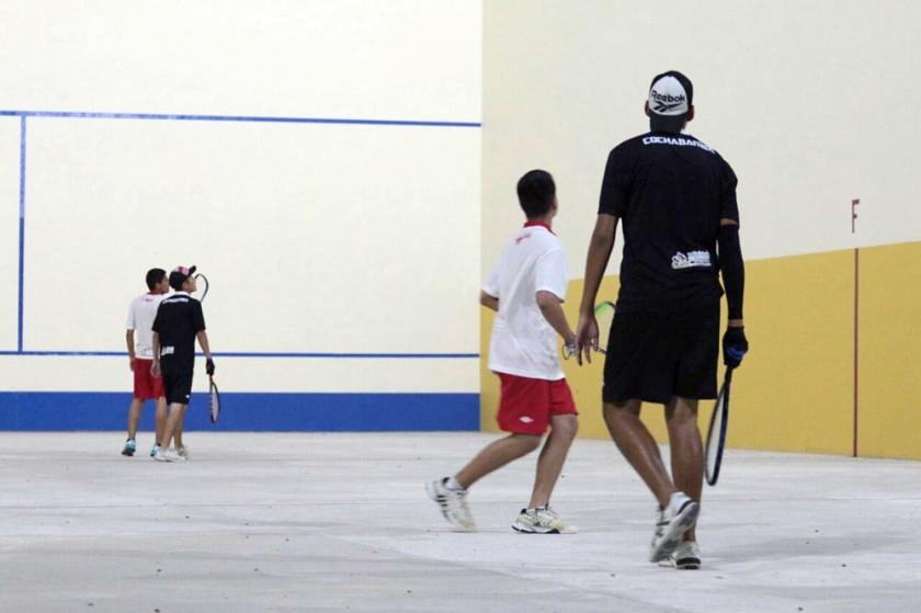 Ayer se disputaron las finales de raqueta frontón, la última disciplina individual de los Juegos.