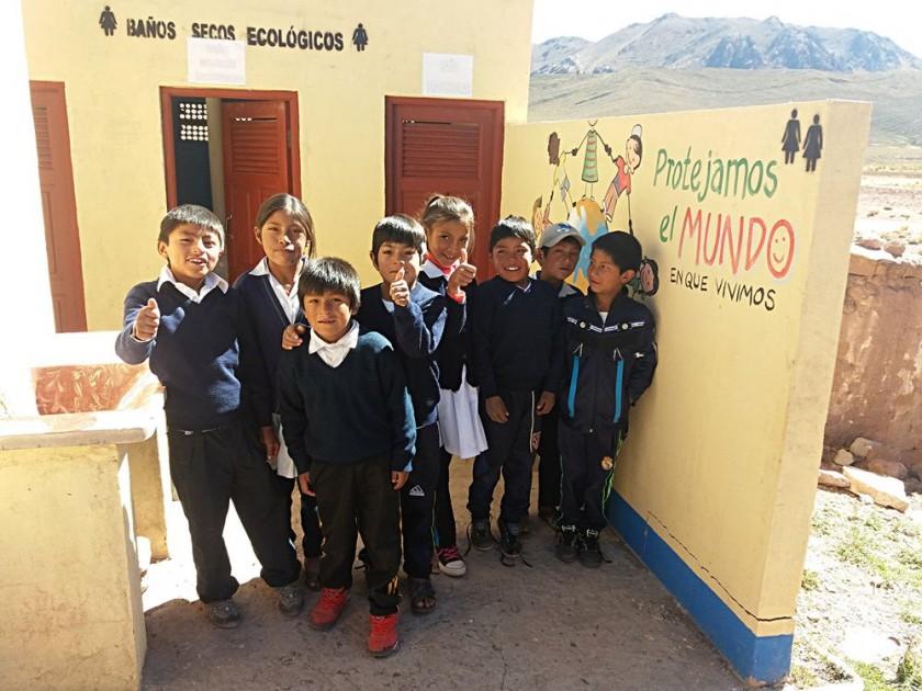 La Fundación Tréveris también trabaja con el tema de medio ambiente en algunas escuelas. CEDIDA