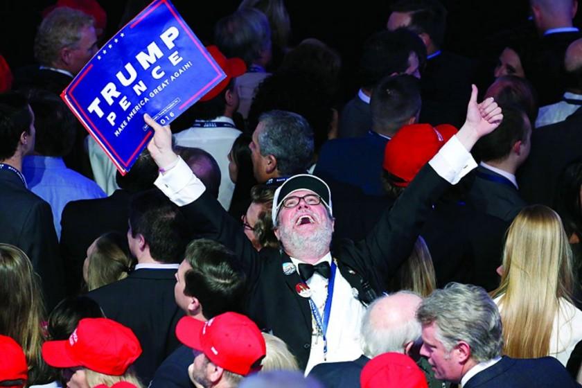 EEUU eligió a Trump