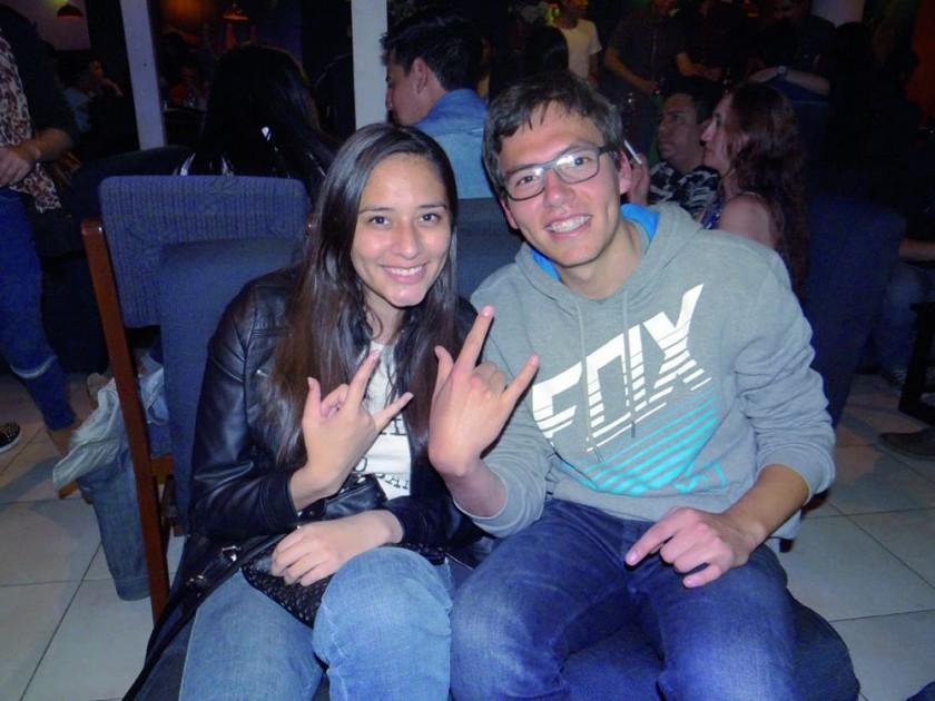 Juliana Rodríguez y Marcelo España.