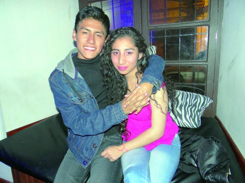 Billy Brañez y Adriana Roca.