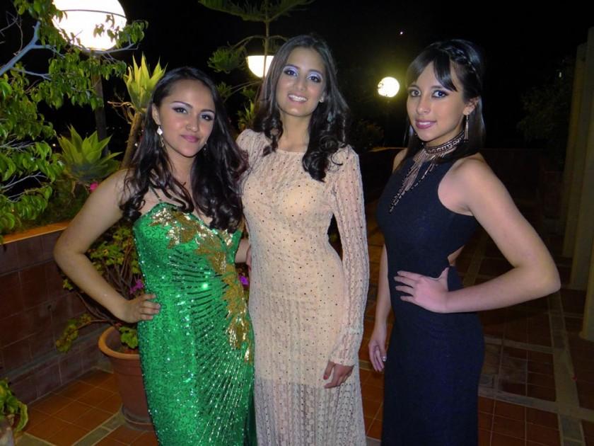 Tania Nahar, Natalia Valda y Monserrat Rosas.