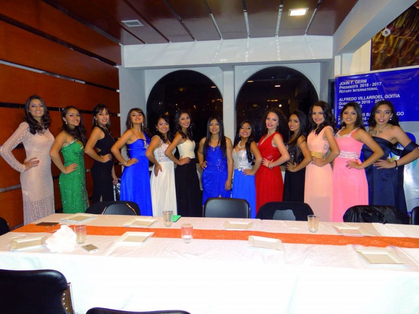 Candidatas a Miss 15 Años 2016.