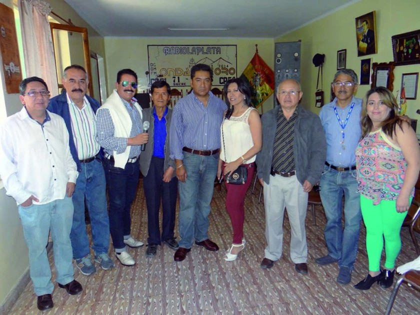 Yubert Donoso, Aldo Quaglini, Rodolfo Mérida, Félix Llanquipacha, Mario Orías, Yolanda Barrientos, Nelson Sarabia, Willy