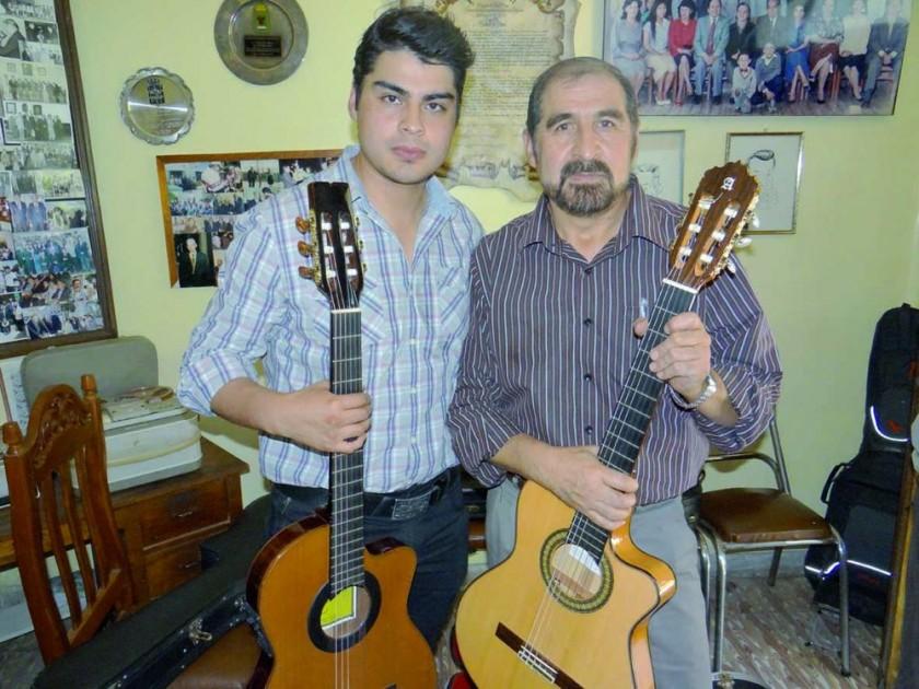 Flavio Zorrilla y Richard Ramírez.