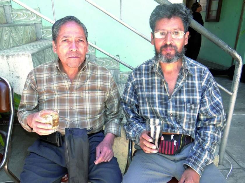 Hugo y Armando Rendón.