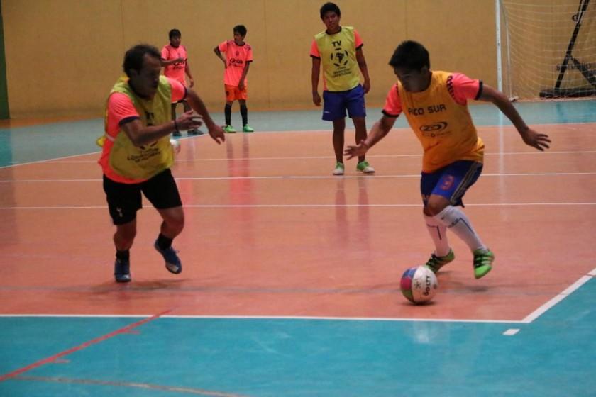 El campeón chuquisaqueño puso énfasis en la definición en sus últimos entrenamientos.