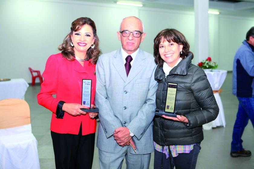 Inés Montero, Juan Carlos Sabat y Elena Rodríguez.