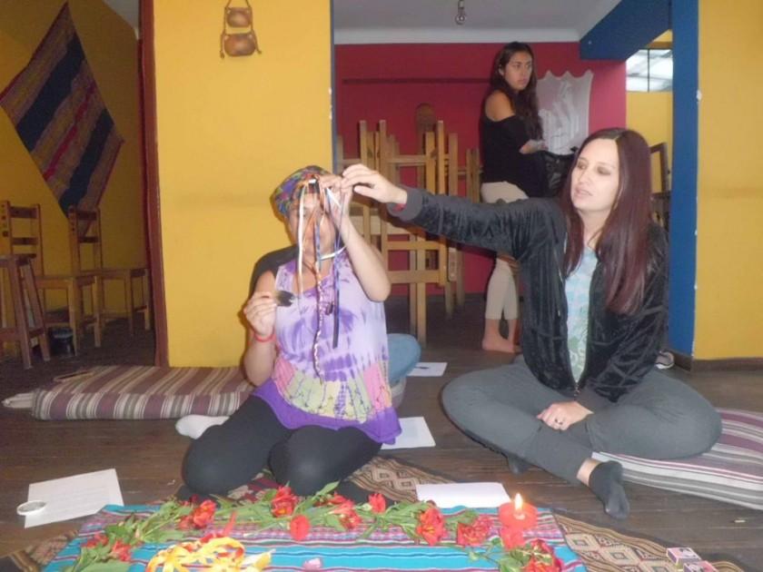 Ritual de bendiciones en el camino de la madre y el bebé para esta etapa, en 'Como en casa' del Círculo de Maternidad...