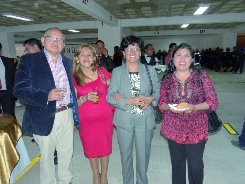 Alberto Lastra, María Luz Montero, Martha Arciénega  e Ilsen Torres.
