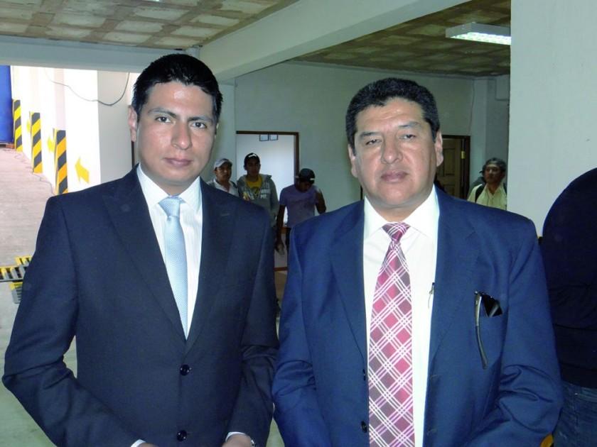 Miguel Trujillo y Marcelo Espinoza.