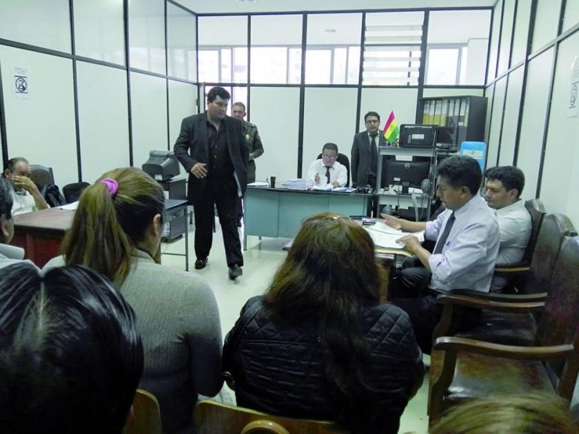 Justicia envía a la cárcel San Roque a titular del Sedes