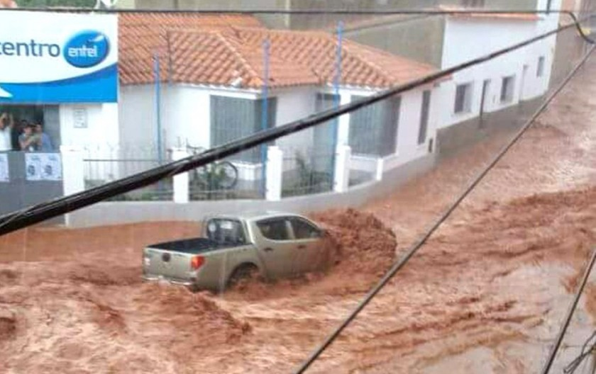 Tormenta deja pérdidas en Camargo