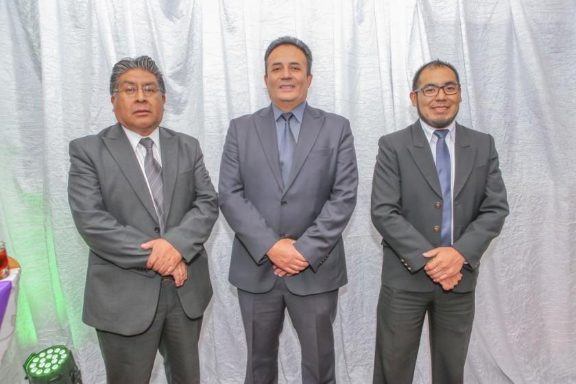José Anave, Boris Valda y Mario Calderón.