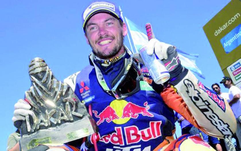 El australiano Toby Price y el francés Stephane Peterhansel son los últimos campeones.
