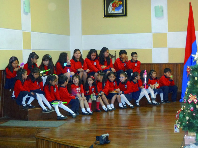 Coral Infantil Niños Cantores de San Francisco Xavier.