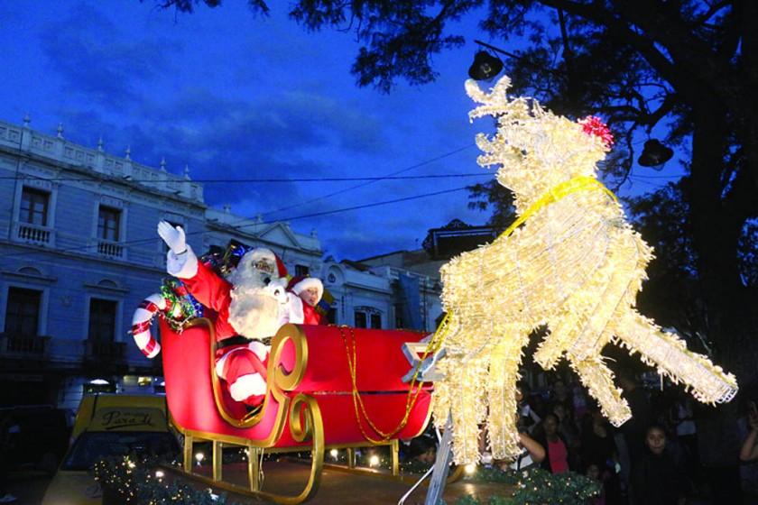 Navidad endulza las calles de Sucre