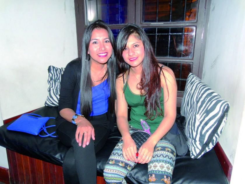 Lieny Rivera y Rita Castro.