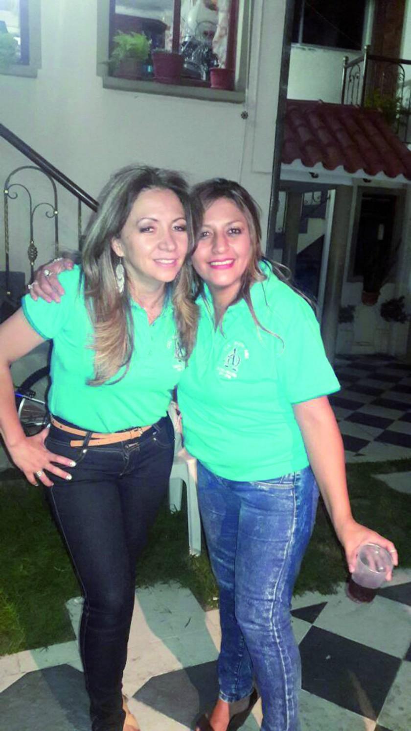 Roxana Aprili y Verónica Paredes.