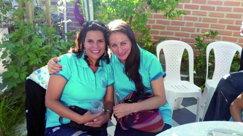 Teresa Gantier y María Elena Negrón.