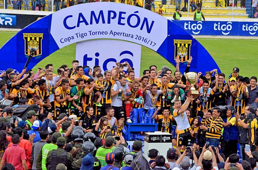 El Tigre celebra su 12º título en la historia de la Liga