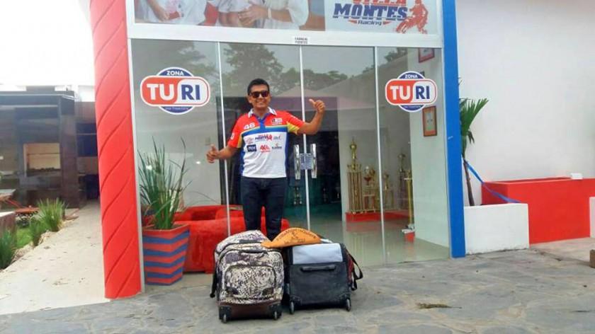 Leonardo y Suany Martínez partieron ayer rumbo a Paraguay; al igual que Fabricio Fuentes .
