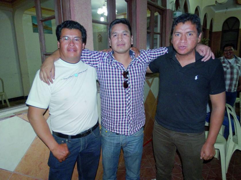 Ortega, Luís Caballero y Álvaro Gutiérrez.