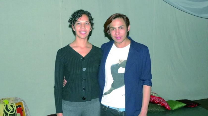 Directora artística, Kurmi Peredo, y Director General, Francis Mejía.