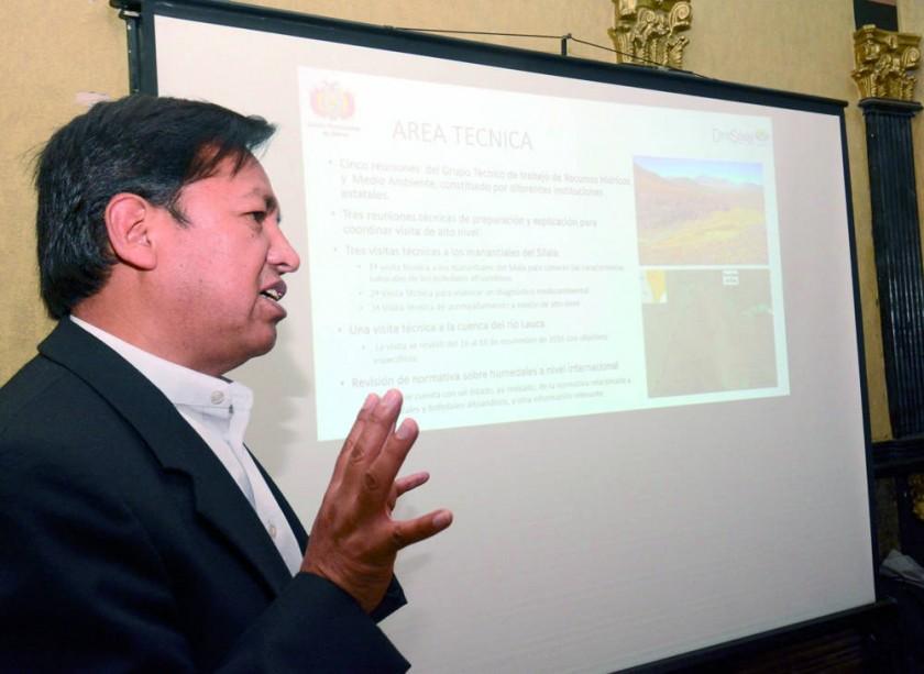 """Bolivia prepara el """"Libro del Silala""""  y concluye réplica"""