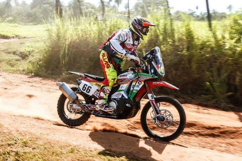 El competidor boliviano, Walter Nosiglia. Foto: Gentileza