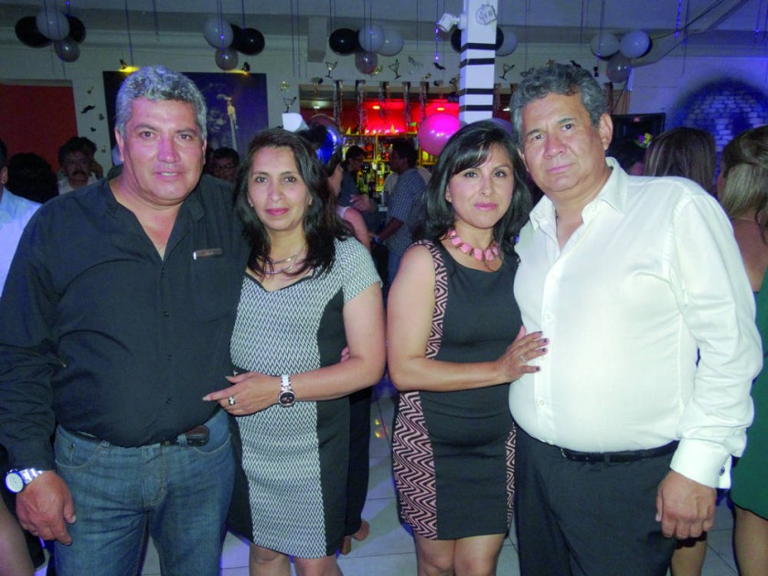 Nelson Arnez, Patricia Galván, Tatiana Sanabria y Jorge Alurralde.