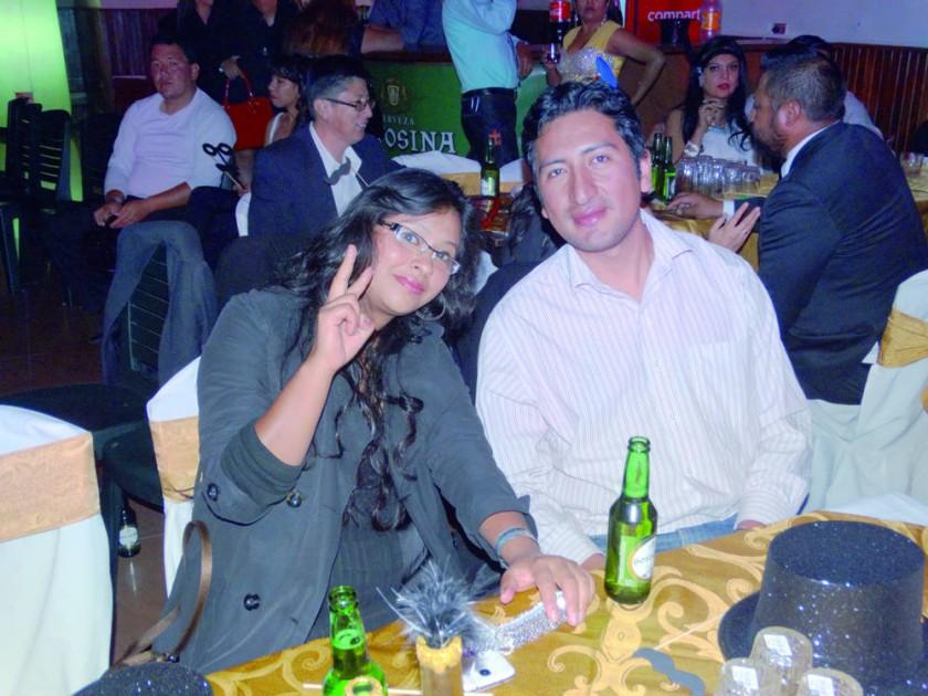 Daniela Sandoval y Fernando Reyes.