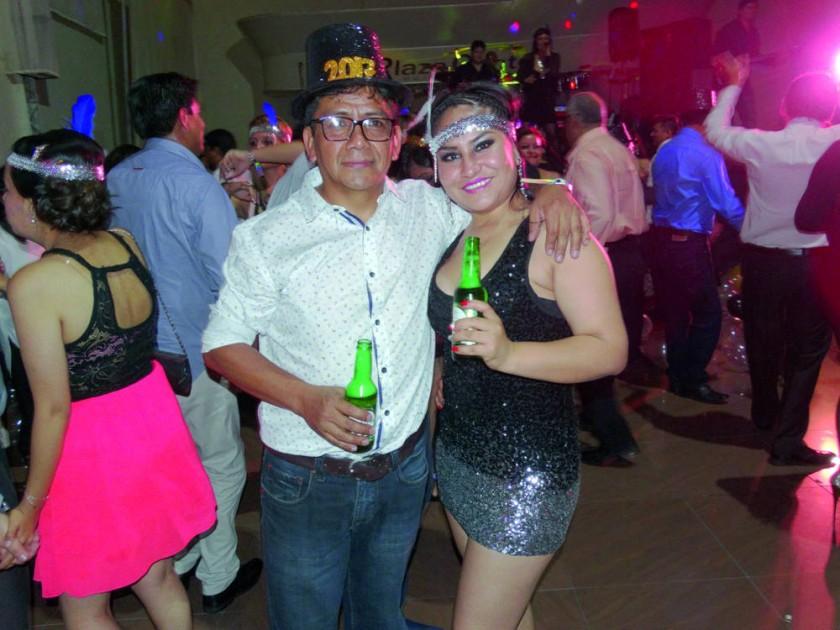 Oscar Orellana y Margoth Torres.