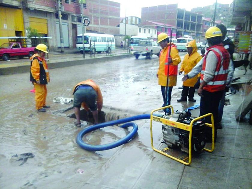 Lluvia reactiva emergencias