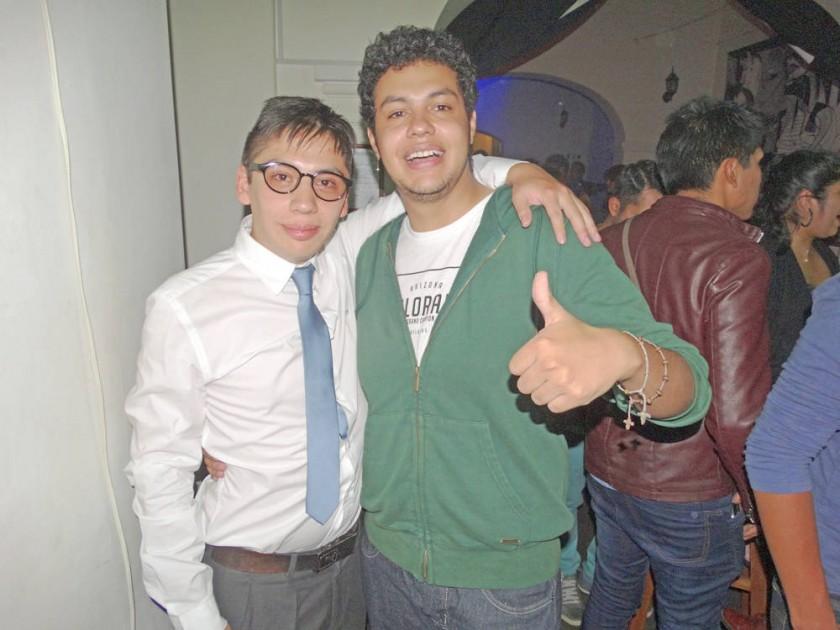 Diego Benavides y Wens Alba.