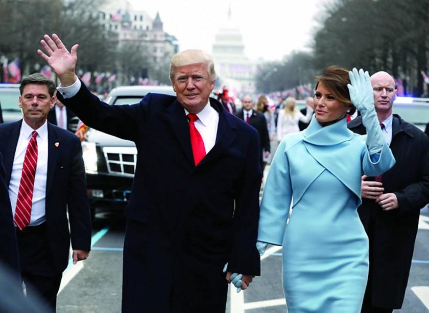 Tono nacionalista abre la era Trump