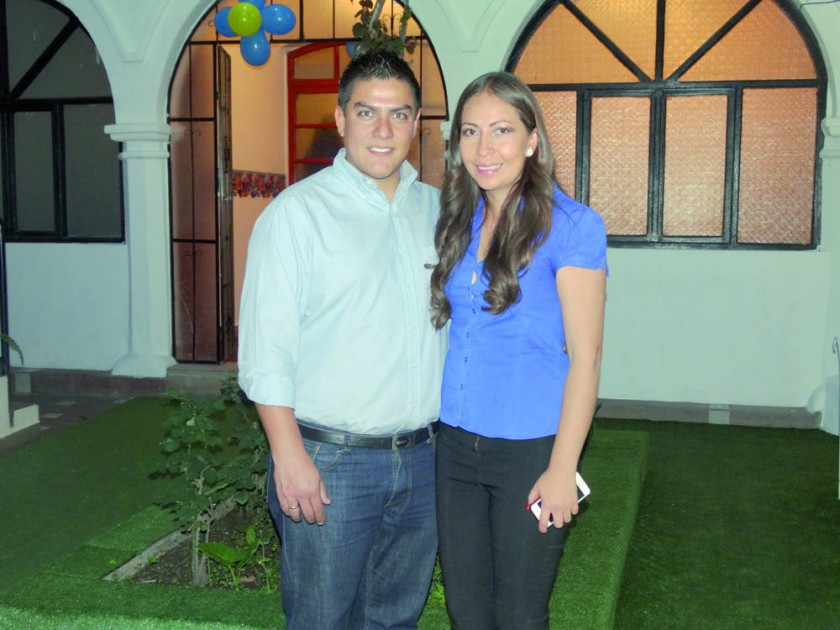 Michael Mercado y Su Ling Gigliola Sanjinés.