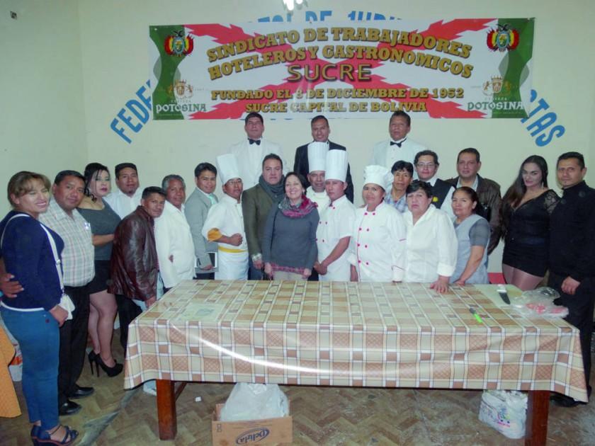 Sindicato de Trabajadores Hoteleros y Gastronómicos Sucre.