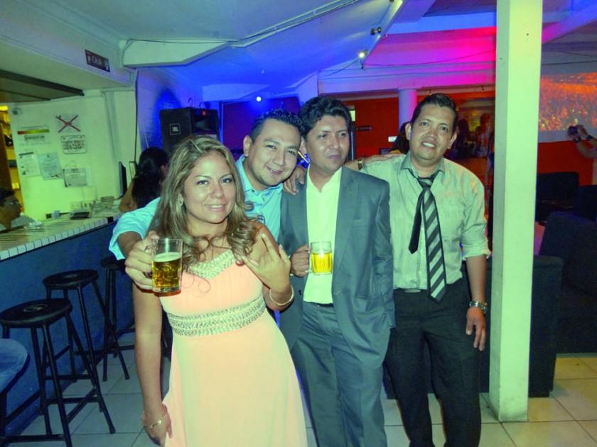 Pamela, Mauricio, Joaquín y Julio.