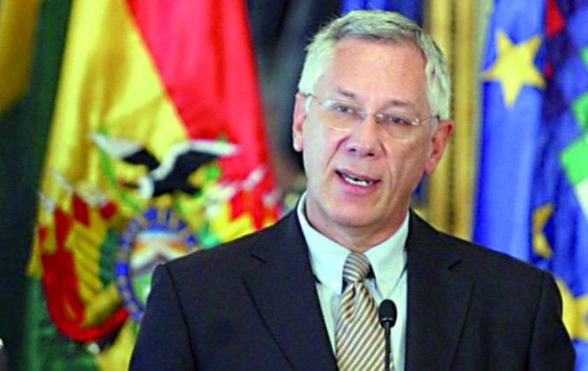 CIJ. Eduardo Rodríguez, delegado en La Haya.