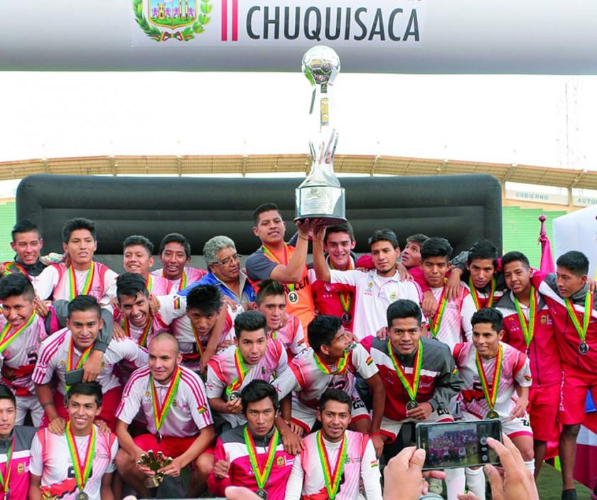 Chuquisaca golea a Oruro y logra el subcampeonato en la Copa Sub 18