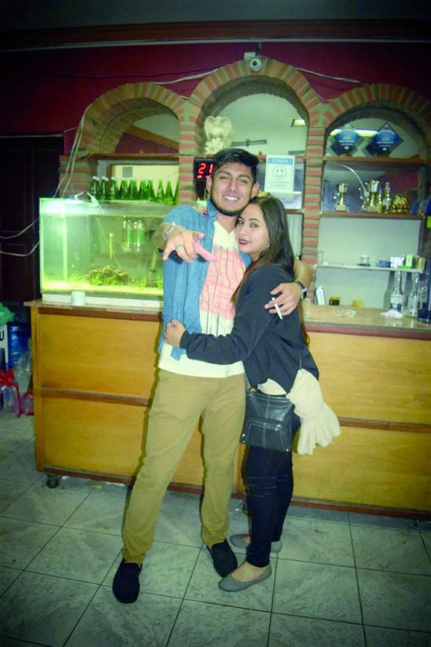 Rodrigo y Adriana.