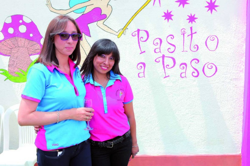 Verónica Valda y Patricia Vásquez.