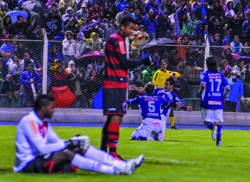 en Potosí, mandó el equipo lila