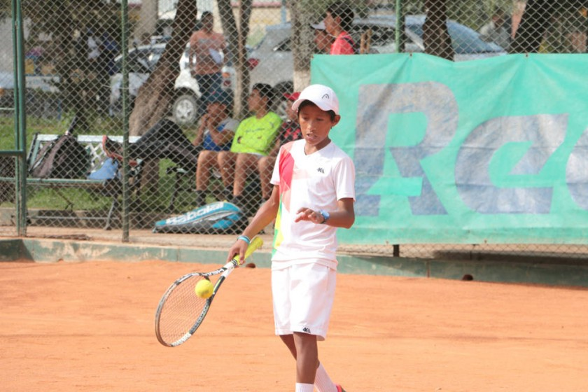 El Campeonato Nacional de Tenis inició el pasado sábado y se extenderá hasta este viernes.