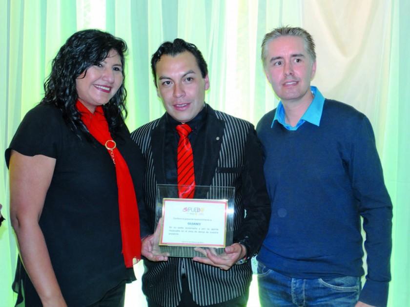 Maritza Blanco, Edson Gil y Cyril Lottici.