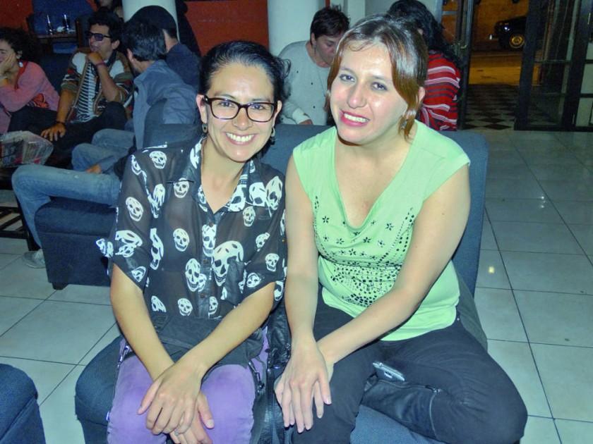 Daniela Carrasco y Daniela Carrasco.
