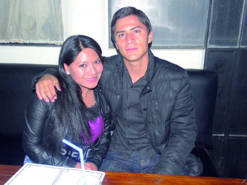 Claudia Churra y Jonás Mostacedo.